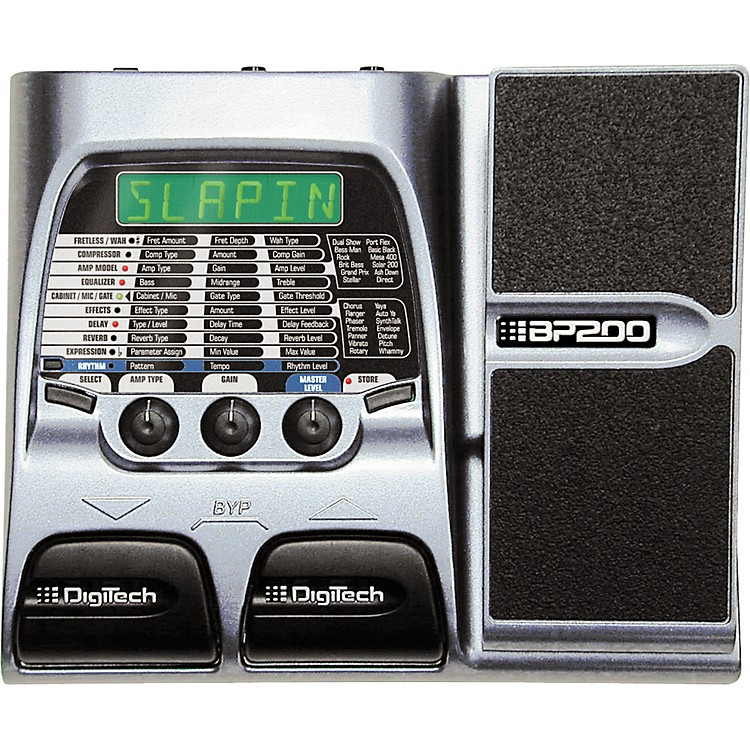 DigiTech BP200 Bass Modeling Processor