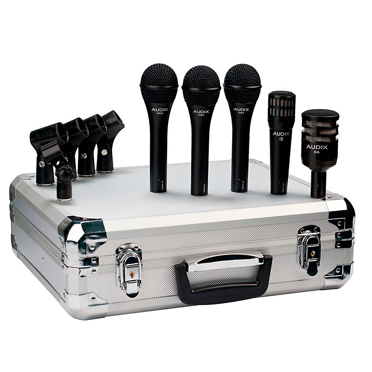 AudixBP5 Pro 5-Piece Band Microphone Pack