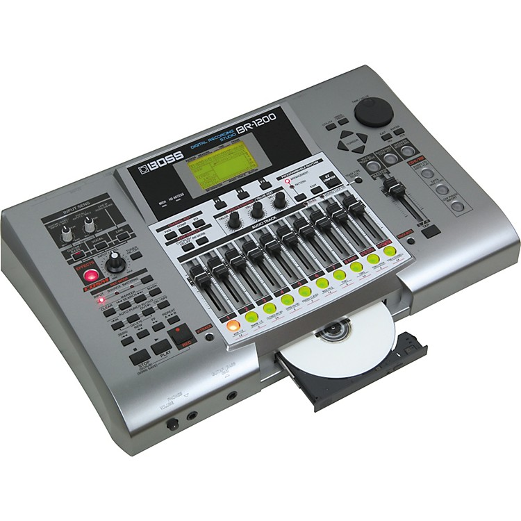 BossBR-1200CD Digital Recording Studio
