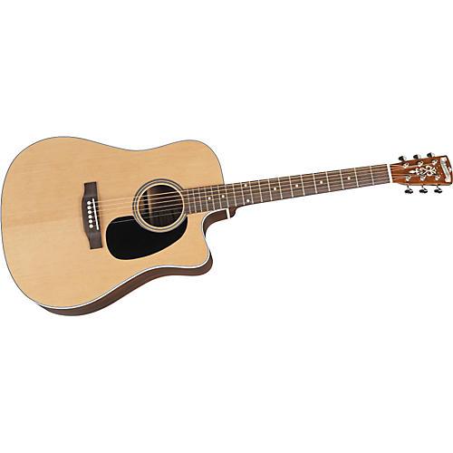 Blueridge BR-60CE Cutaway Acoustic-Electric Dreadnought Guitar-thumbnail