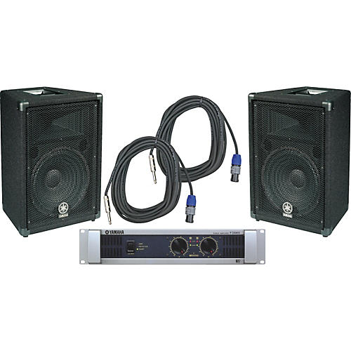 Yamaha BR12 / P2500S Speaker & Amp Package