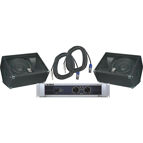 Yamaha BR12M / P3500S Speaker & Amp Package