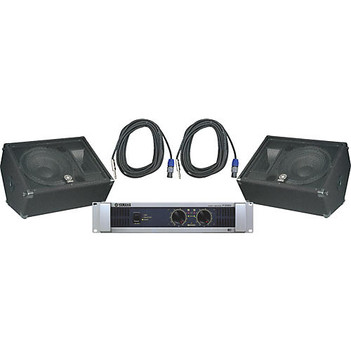 Yamaha BR15M / P3500S Speaker & Amp Package-thumbnail
