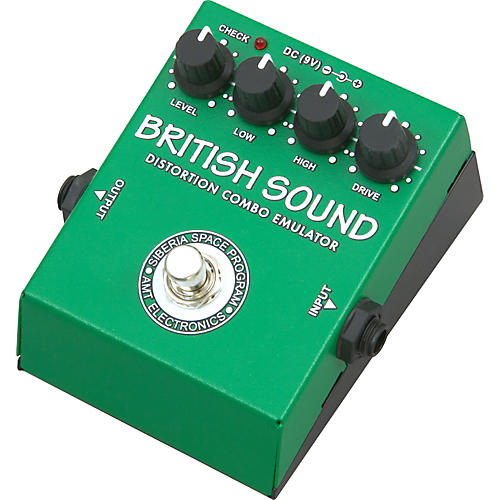 AMT Electronics BRS British Sound Distortion Guitar Effects Pedal