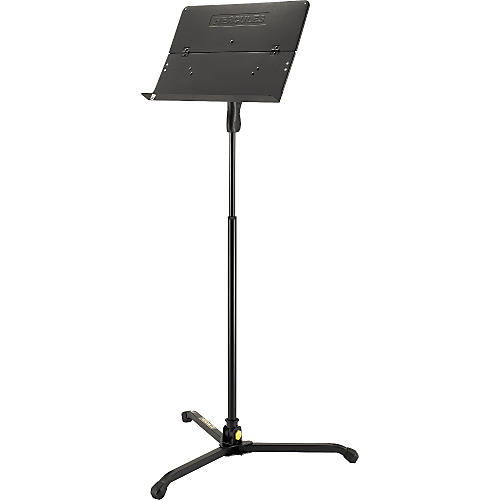 Hercules Stands BS401B Music Stand Solid Desk