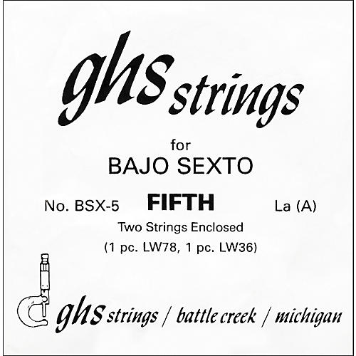 GHS BSX5 Bajo Sexto Single Guitar String