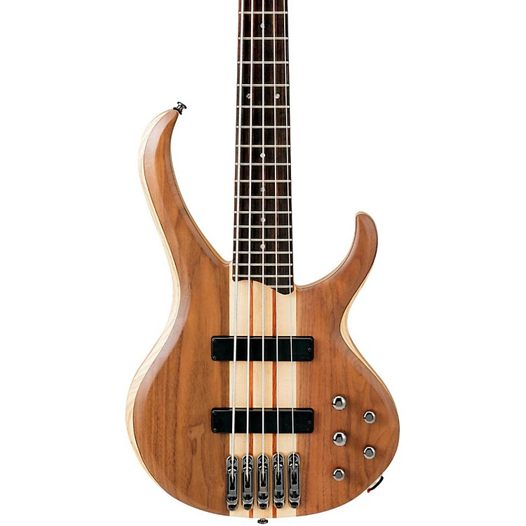 Ibanez BTB675 BTB 5-String Electric Bass Guitar Natural Flat