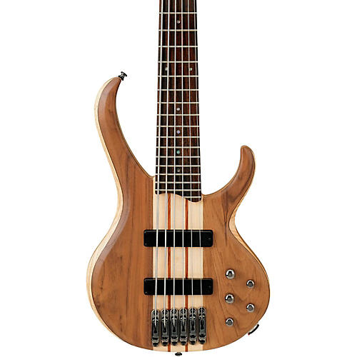 Ibanez BTB676 BTB 6-String Electric Bass Guitar Natural Flat