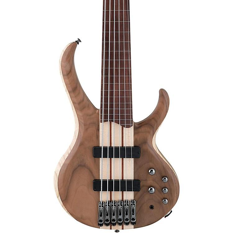 IbanezBTB676F Fretless 6-String BassNatural Flat