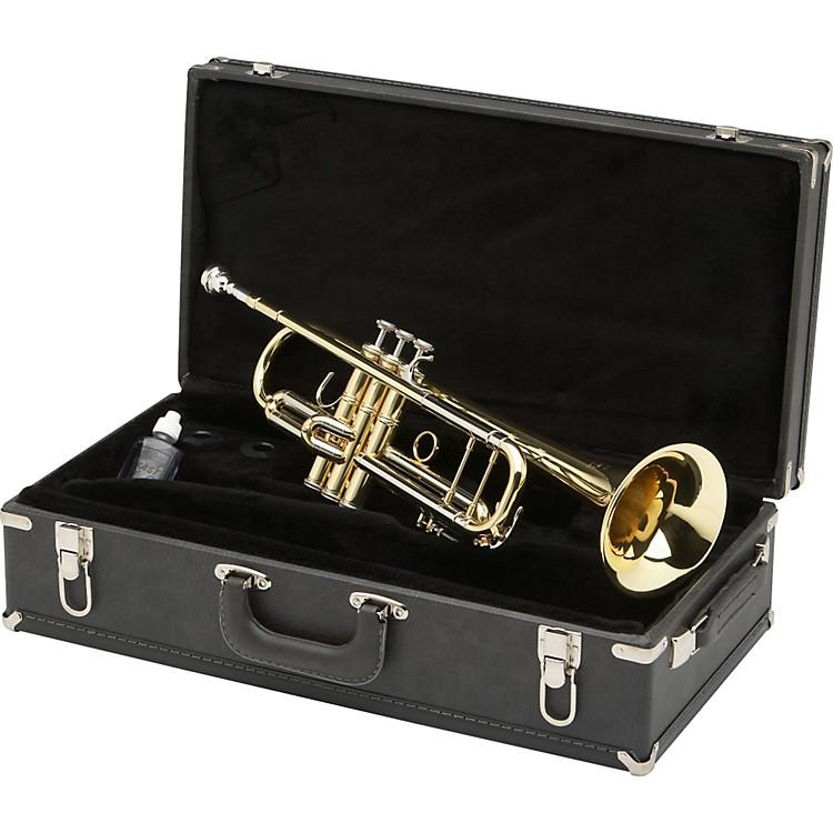 BlessingBTR-1580 Series Professional Bb TrumpetBTR-1580G Silver with Gold Trim