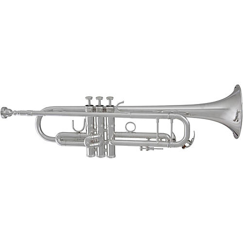 Blessing BTR-1580R Professional Reverse Tuning Slide Series Bb Trumpet BTR-1580RS Silver Reverse Tuning Slide