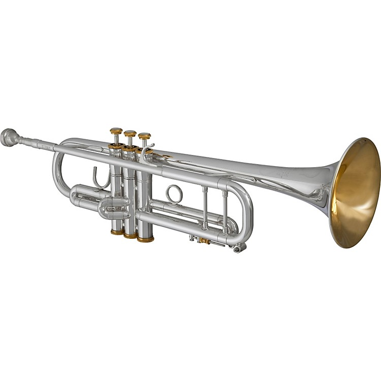 BlessingBTR-ML1 Artist Series Bb TrumpetSilverGold Trim