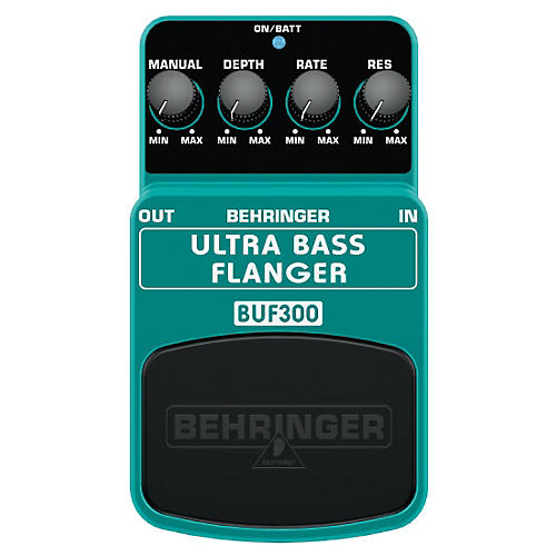 Behringer BUF300 Ultra Bass Flanger Effects Pedal-thumbnail