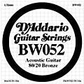 D'Addario BW052 80/20 Bronze Acoustic Guitar Strings thumbnail