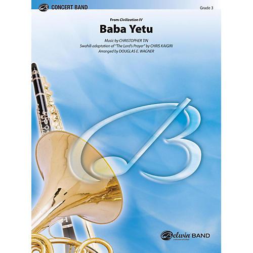 Alfred Baba Yetu Concert Band Grade 3-thumbnail