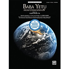 Alfred Baba Yetu (from the video game Civilization IV) Piano/Vocal/Chords Sheet