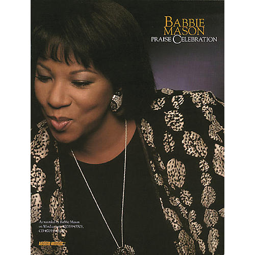 Word Music Babbie Mason - Praise Celebration Book