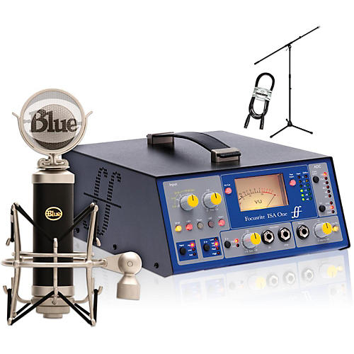 BLUE Baby Bottle with Focusrite IsaOne Package-thumbnail
