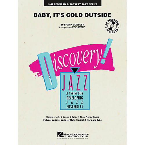 Hal Leonard Baby, It's Cold Outside Jazz Band Level 1-2 Arranged by Rick Stitzel-thumbnail