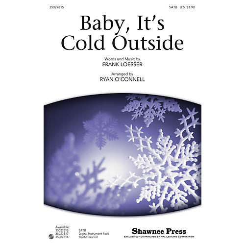 Shawnee Press Baby, It's Cold Outside Studiotrax CD Arranged by Ryan O'Connell-thumbnail