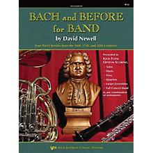 KJOS Bach And Before for Band Baritone Tc