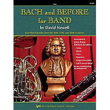 KJOS Bach And Before for Band Flute