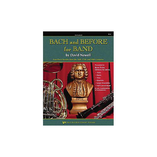 KJOS Bach And Before for Band Tuba