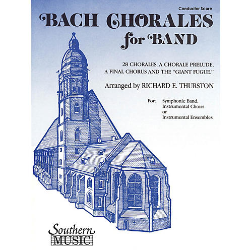 Southern Bach Chorales for Band (Trombone 3) Concert Band Level 3 Arranged by Richard E. Thurston-thumbnail