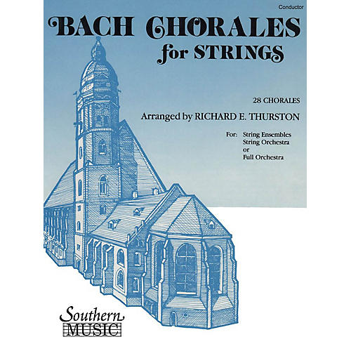 Southern Bach Chorales for Strings (28 Chorales) Southern Music Composed by Bach Arranged by Richard E. Thurston-thumbnail