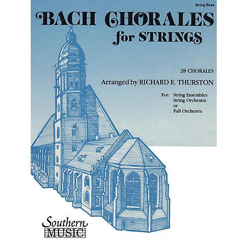 Southern Bach Chorales for Strings (28 Chorales) by Johann Sebastian Bach Arranged by Richard E. Thurston-thumbnail