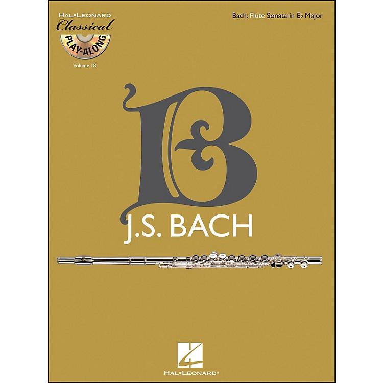 Hal LeonardBach: Flute Sonata In E-Flat Major, Bwv 1031 - Classical Play-Along (Book/CD) Vol. 18