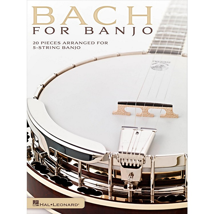 Hal Leonard Bach For Banjo - 20 Pieces Arranged for 5-String Banjo