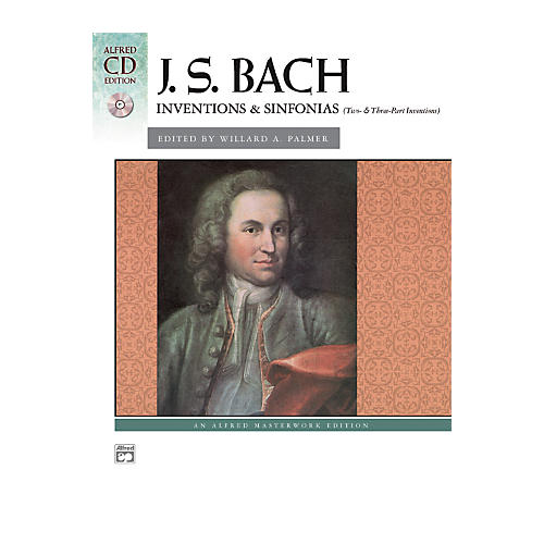 Alfred Bach Inventions & Sinfonias (Two- & Three-Part Inventions) Intermediate/Early Advanced Piano-thumbnail