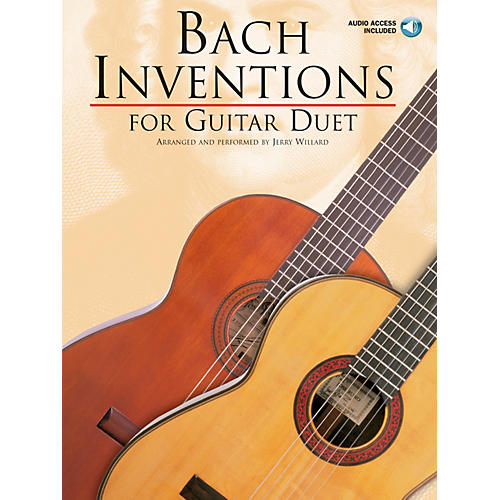 Music Sales Bach Inventions (for Guitar Duet) Music Sales America Series Softcover with CD-thumbnail