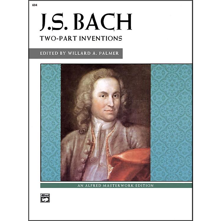 AlfredBach Two-Part Inventions Intermediate/Late Intermediate  Piano