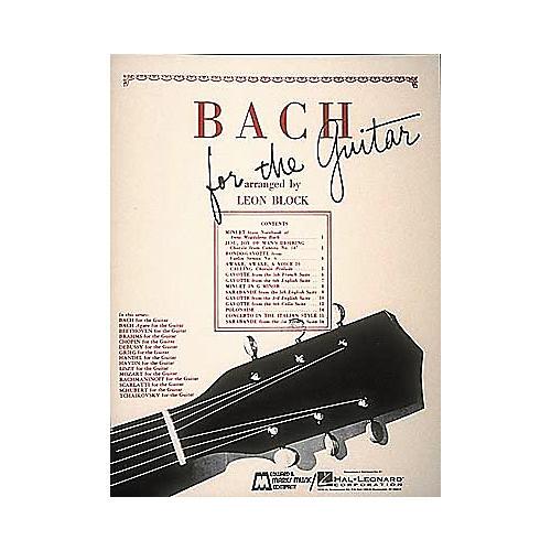Edward B. Marks Music Company Bach for Guitar Book-thumbnail