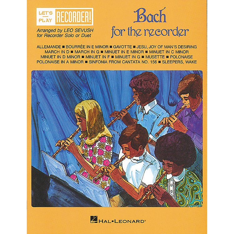 Hal Leonard Bach for the Recorder