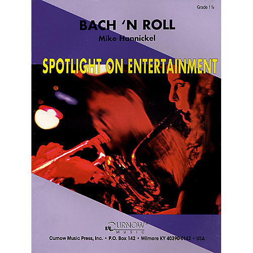Hal Leonard Bach 'n Roll (Grade 1.5 - Score and Parts) Concert Band Level 1.5 Composed by Mike Hannickel-thumbnail