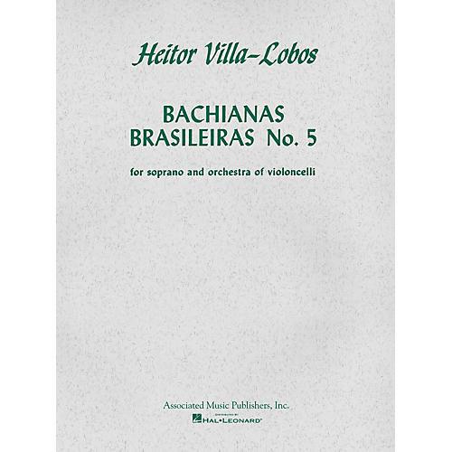 Associated Bachianas Brasileiras No. 5 (Score and Parts) String Ensemble Series  by Heitor Villa-Lobos