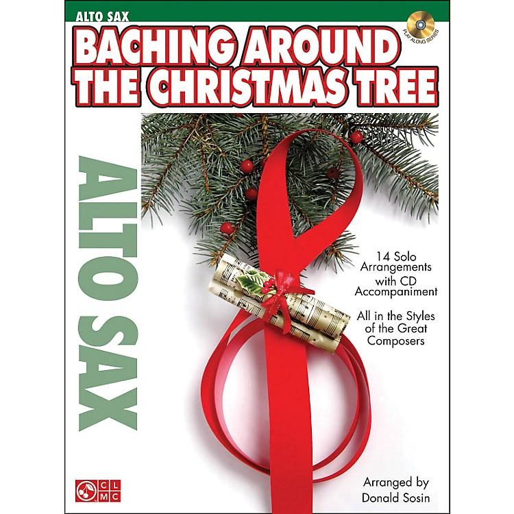 Cherry LaneBaching Around The Christmas Tree (Alto Sax) Book/CD