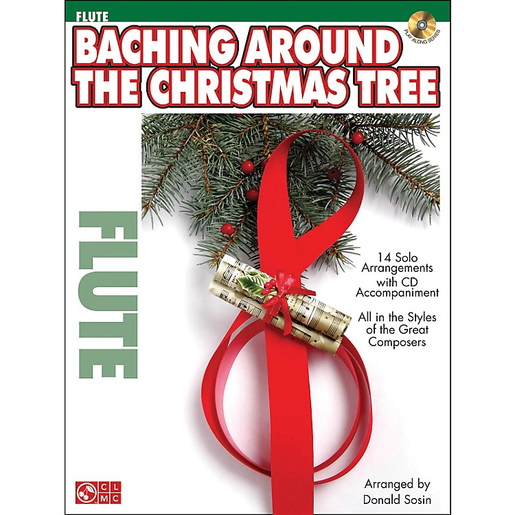 Cherry Lane Baching Around The Christmas Tree (Flute) Book/CD