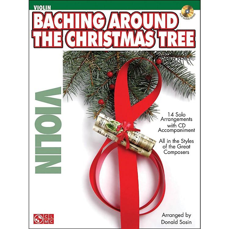 Cherry LaneBaching Around The Christmas Tree (Violin) Book/CD