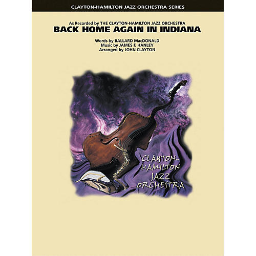 Hal Leonard Back Home Again in Indiana Jazz Band Level 5 Arranged by John Clayton-thumbnail