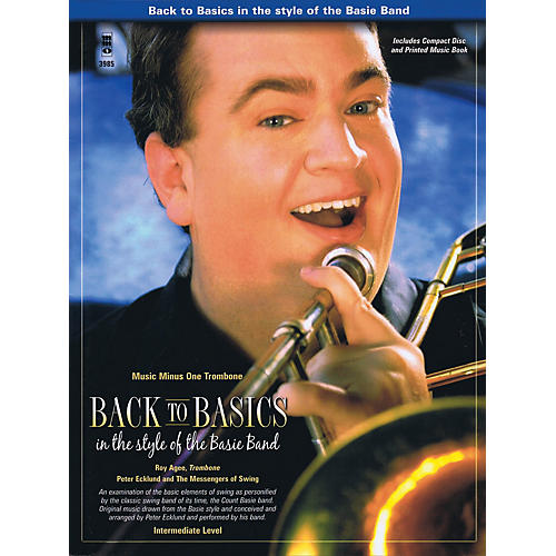 Music Minus One Back to Basics in the Style of the Basie Band Music Minus One Series Softcover with CD-thumbnail