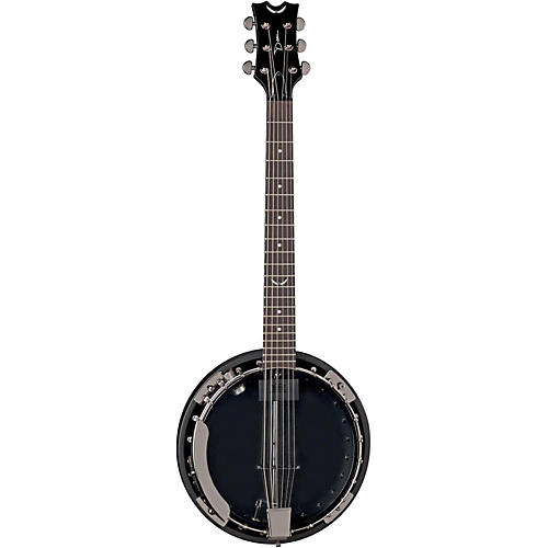 Dean Backwoods 6 Banjo w/Pickup - Black Chrome Black Chrome