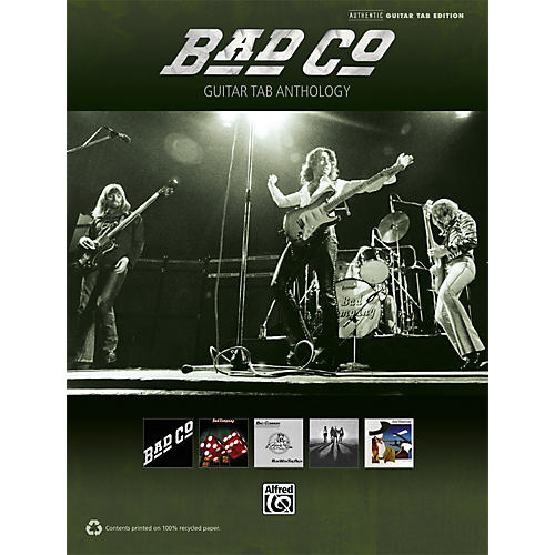 Hal Leonard Bad Company - Guitar TAB Anthology Book