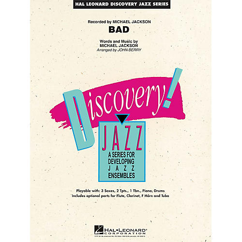 Hal Leonard Bad Jazz Band Level 1.5 by Michael Jackson Arranged by John Berry-thumbnail