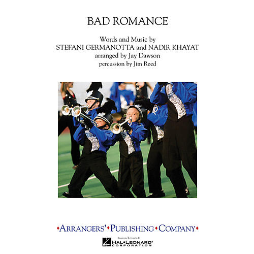 Arrangers Bad Romance Marching Band by Lady Gaga Arranged by Jay Dawson-thumbnail
