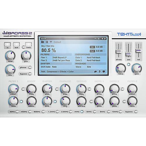 Tek'it Audio Badass 2 Distortion Plug-in Software Download