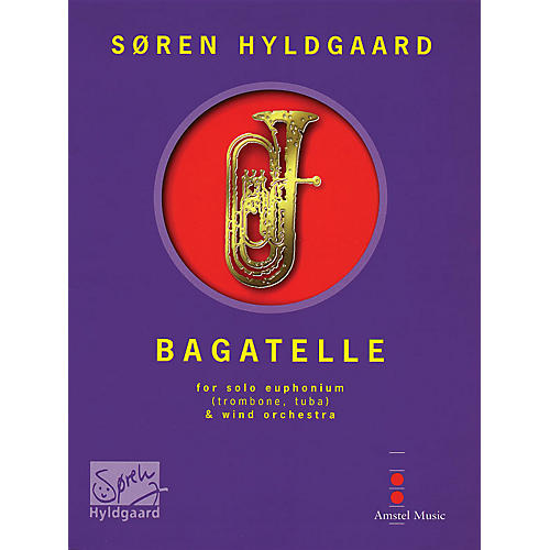 De Haske Music Bagatelle (for Euphonium & Wind Orchestra) (Score Only) Concert Band Composed by Soren Hyldgaard-thumbnail